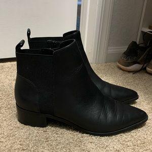 Crown Vintage Shoes - Crown Vintage Black Chelsea Bootie
